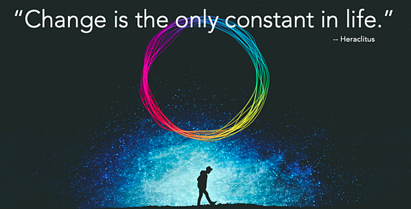 Change is the only constant in life - Heraclitus